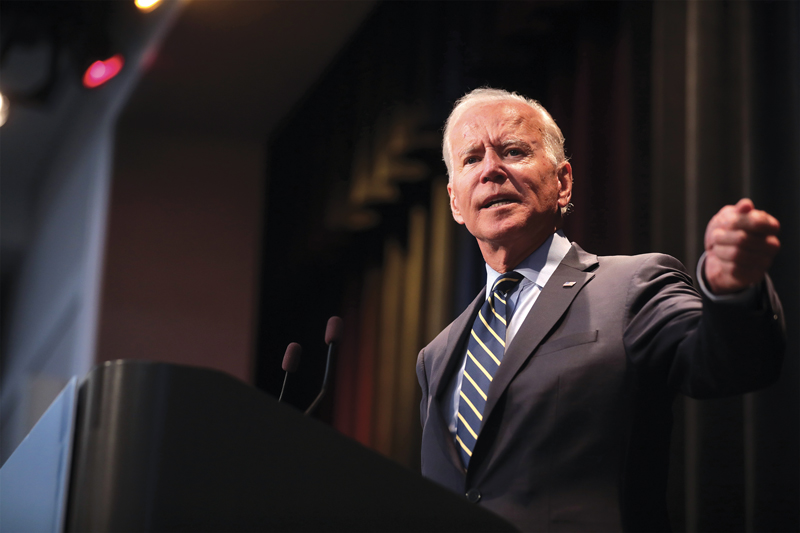 Biden, une menace