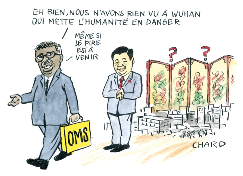 Les tribulations de l'OMS en Chine